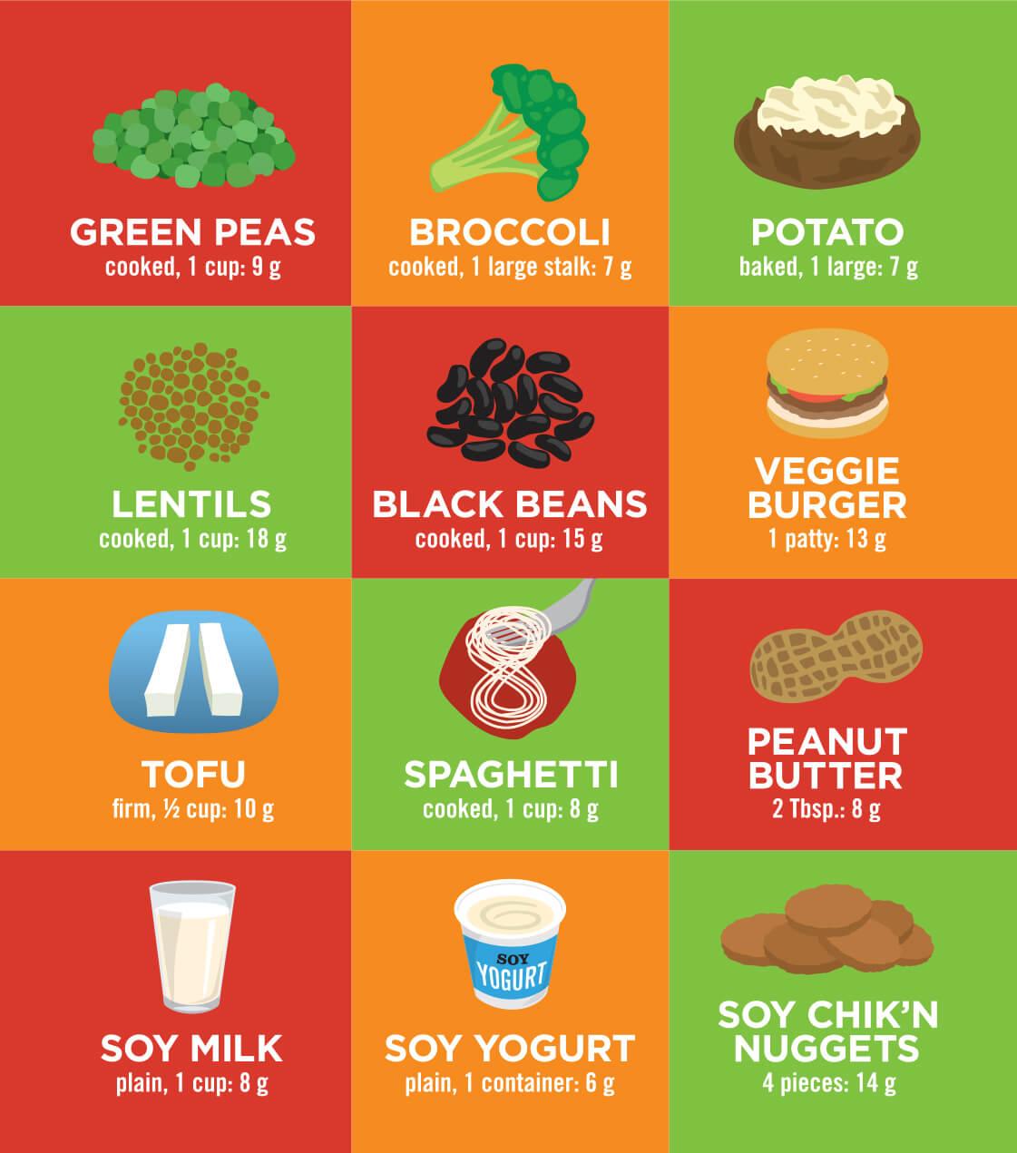 protein för veganer