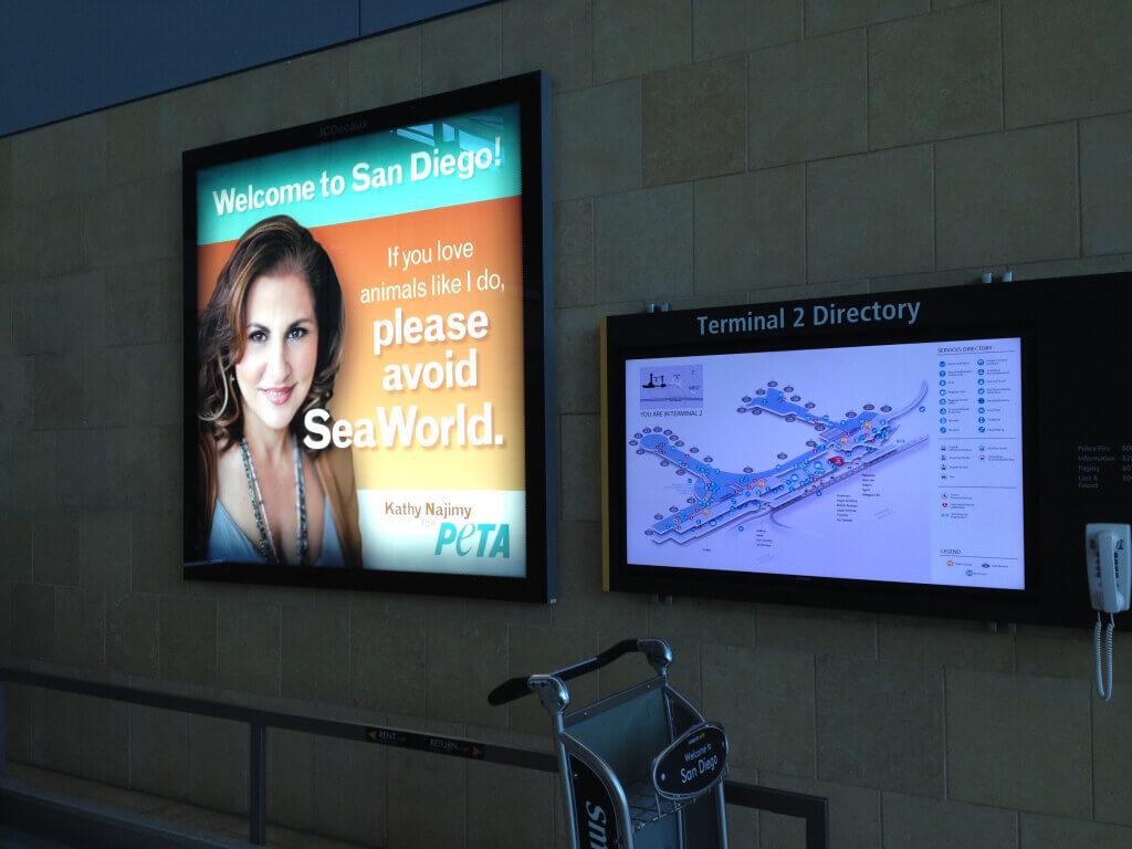 Kathy Najimy Ad San Diego