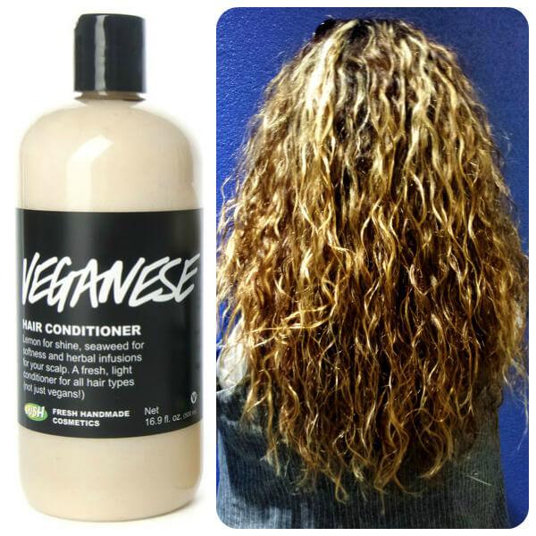 Lush Veganese Curly Hair