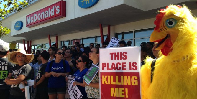 Fast-Food Protesters Did Not See This Coming (Photo)