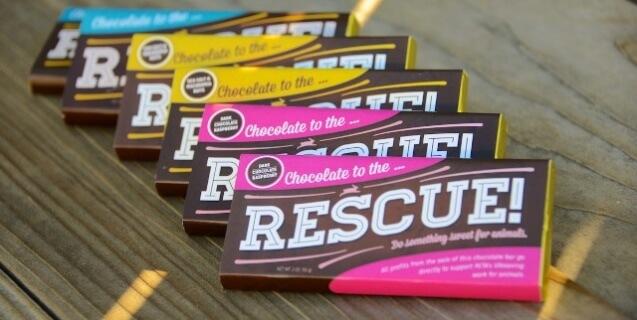PETA's Chocolate to the Rescue Bar