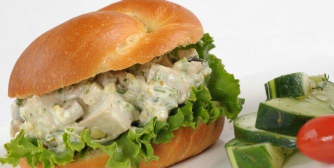 Vegan 'Chicken' Salad