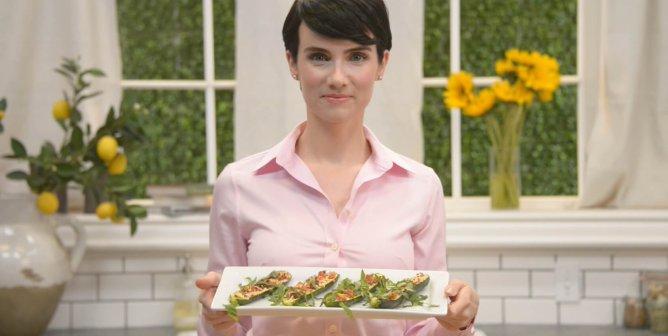 Healthy and Delicious Vegan Italian Stuffed Zucchini