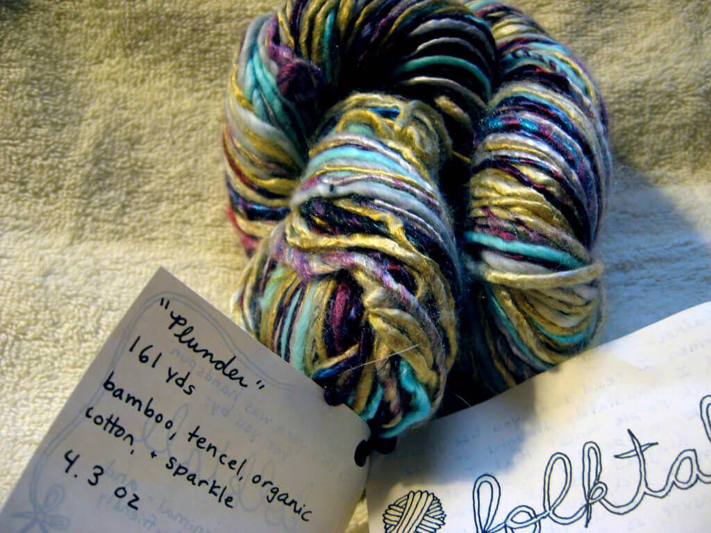Wool-free Yarn