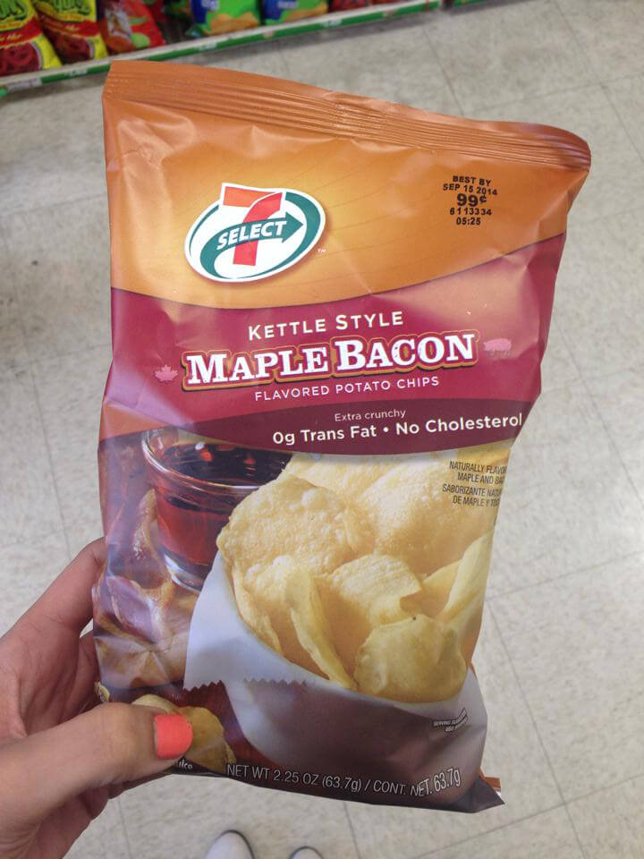 7-11 Maple Bacon Kettle Chips