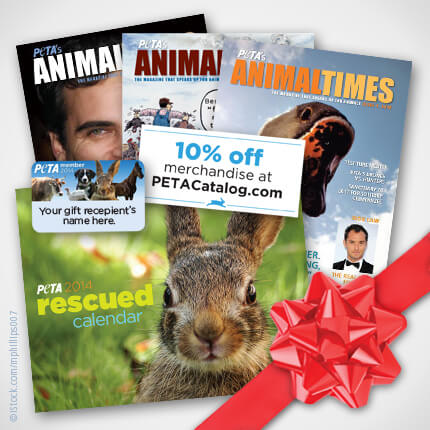 Gift PETA Membership