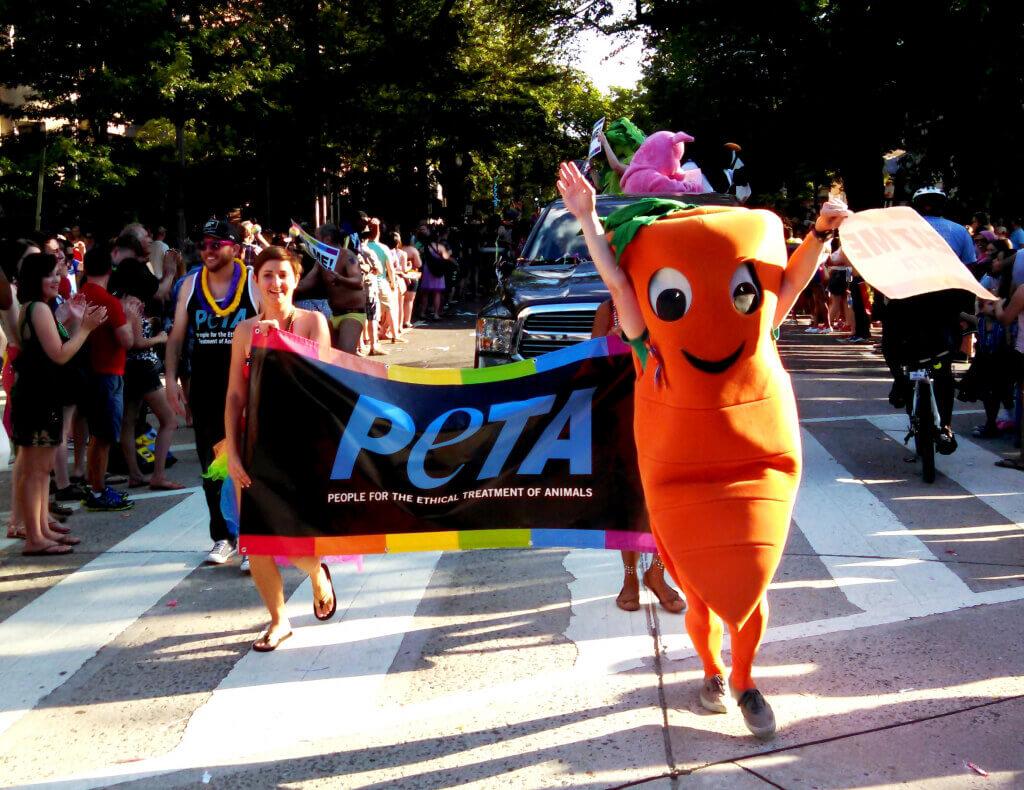 Chris P Carrot at Capital Pride Parade