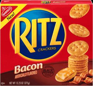 Ritz Crackers Bacon Flavor