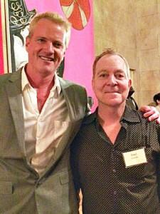 Fred Schneider with Dan Matthews