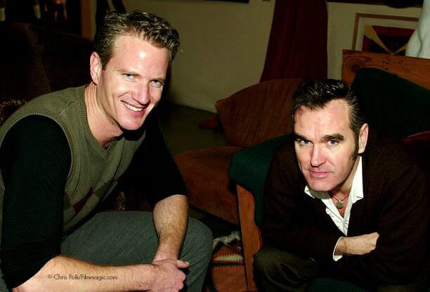 Dan Mathews and Morrissey