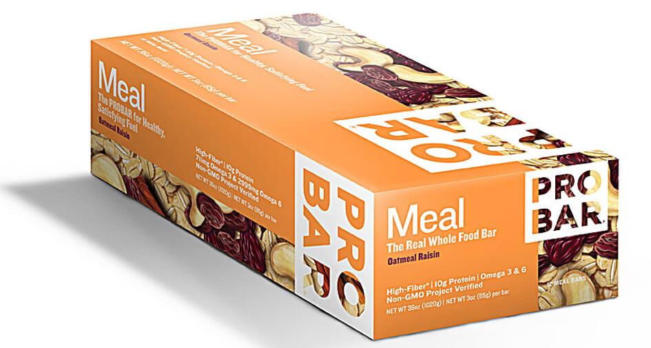 Oatmeal Raisin Pro Bar Meal Bar