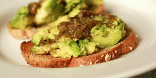 Whole Grain Avocado Toast with Salsa