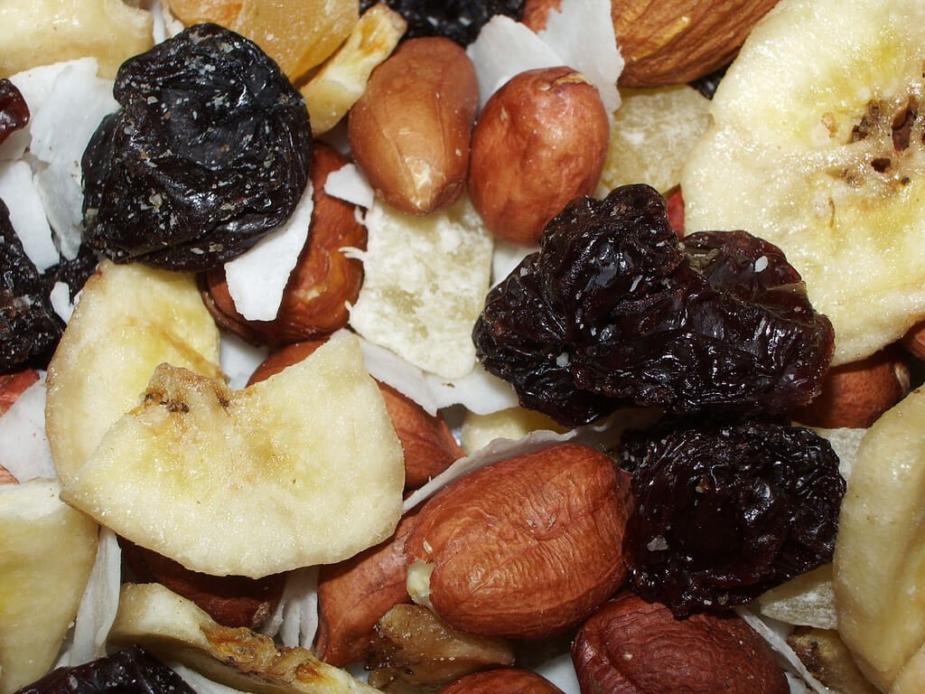Healthy Dried Fruit and Nuts