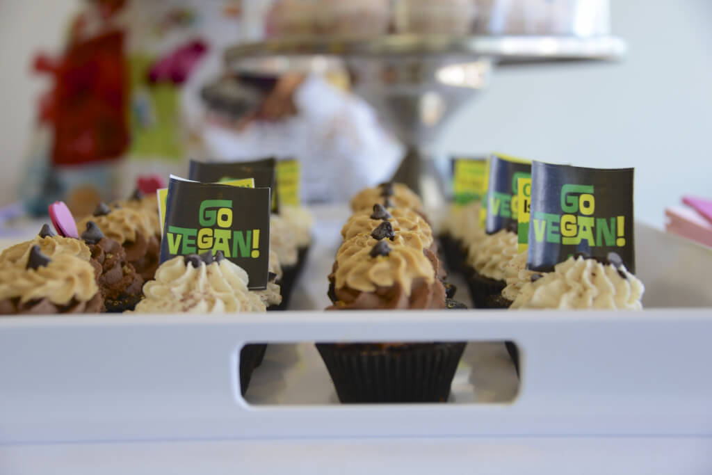 Go Vegan! Cupcakes by Courtesan Cupcakes