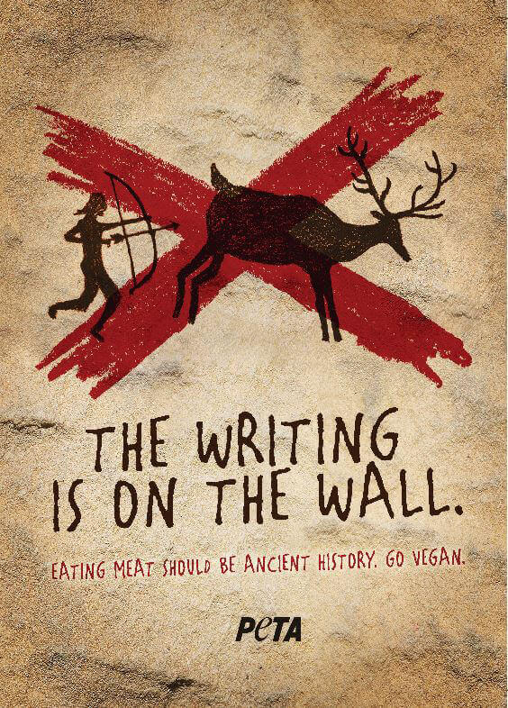 The Writing Is on the Wall ad