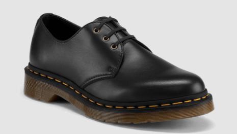 Black Vegan Leather Dress Shoes