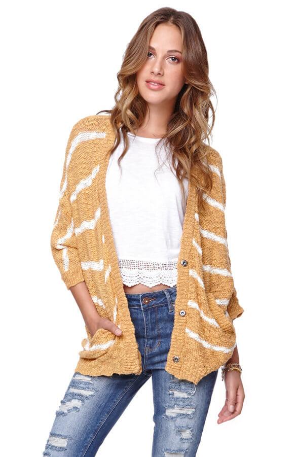 PacSun Striped Sweater