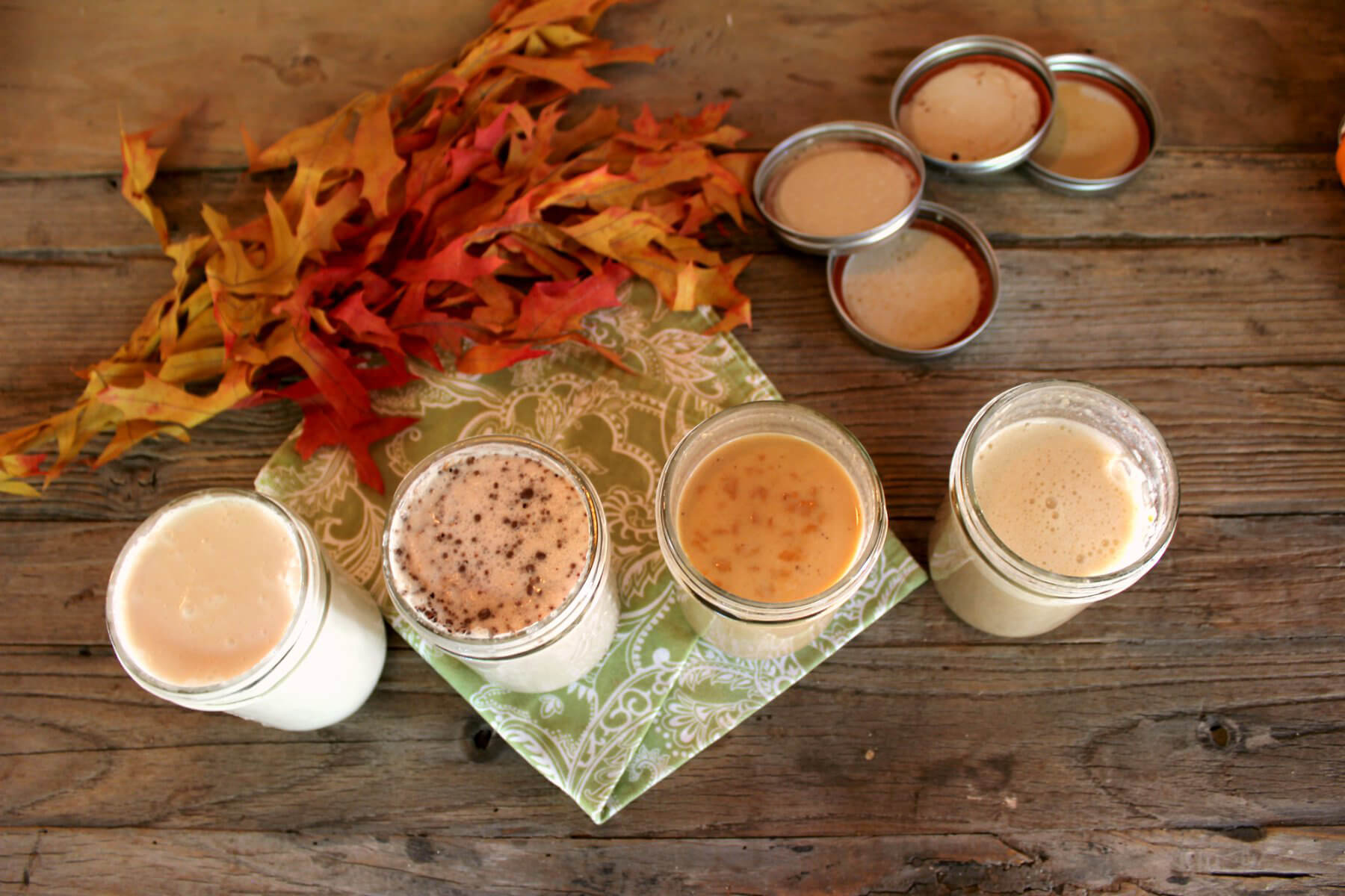 ... vegan coffee creamers that are smoother, creamier, and tastier than store-bought ones, which are usually packed with chemicals and cruelty.