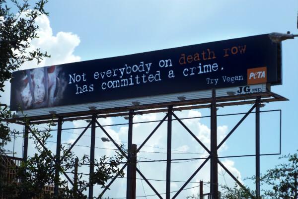 Death Row Billboard in Houston