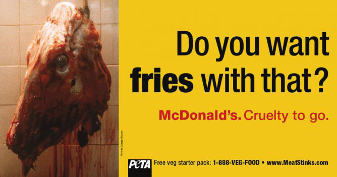McCruelty - 'Want Fries with That?' Billboard