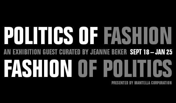 Politics of Fashion Event