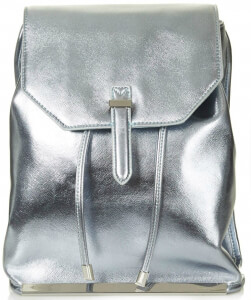 Top Shop Silver Backpack
