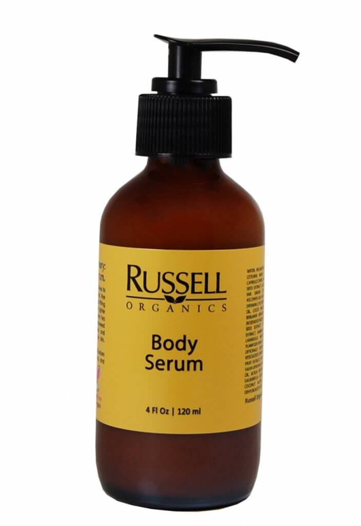 russell organics body serum
