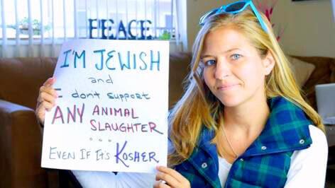 Jewish Kosher Animal Slaughter Vegan Animal Rights Myth
