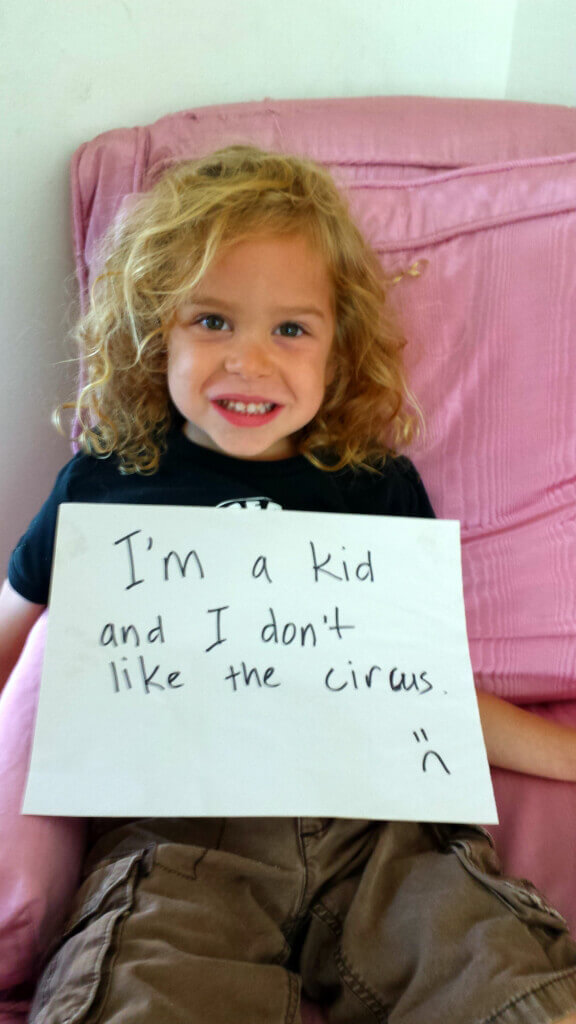 Child Circus Animal Rights Myths