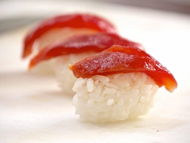 Tomato Sushi Nigiri