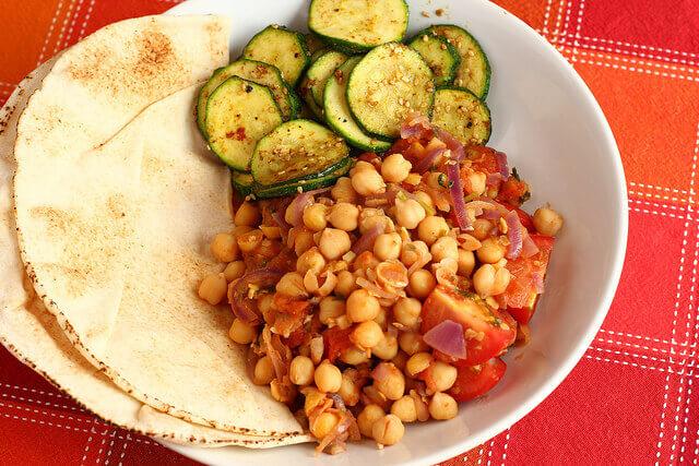 Garbanzo dish