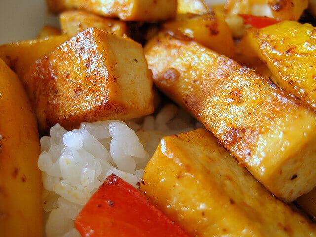 Mango and Tofu