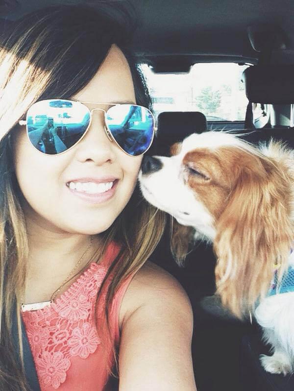 Hero Nurse Nina Pham and Her Canine Companion