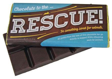 PETA Rescue Chocolate