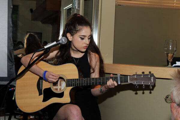 Singer/Musician Saima_Najimy_Finnerty Performs at PETA Event at Sublime
