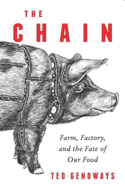 """Ted Genoways - """"The Chain"""" Book Cover"""