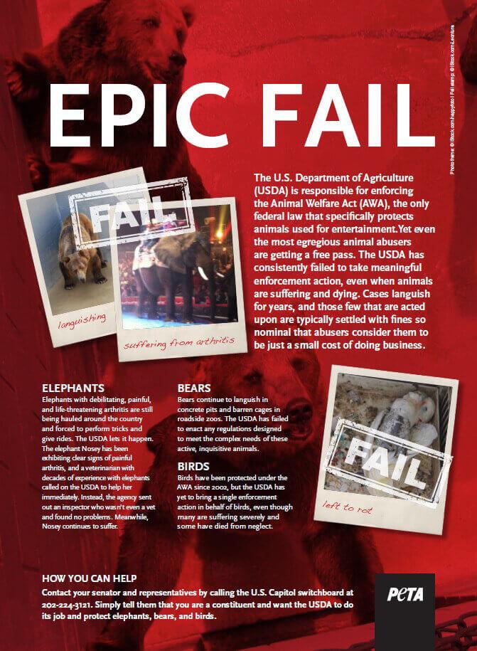 USDA Epic Fail