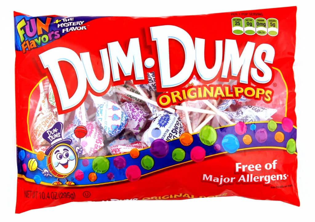 Vegan Halloween Candy dum dums