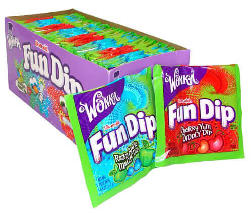 Vegan Halloween Candy fun dip