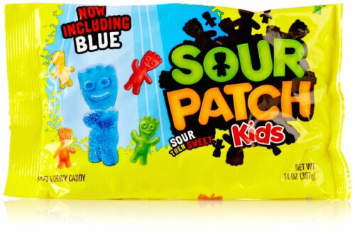 Vegan Halloween Candy sour patch kids