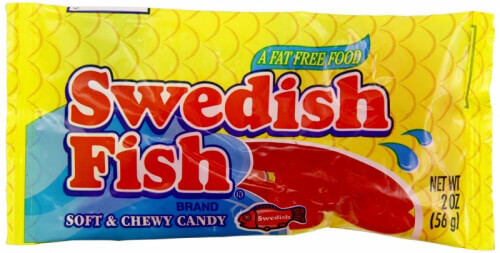 Vegan Halloween Candy swedish fish