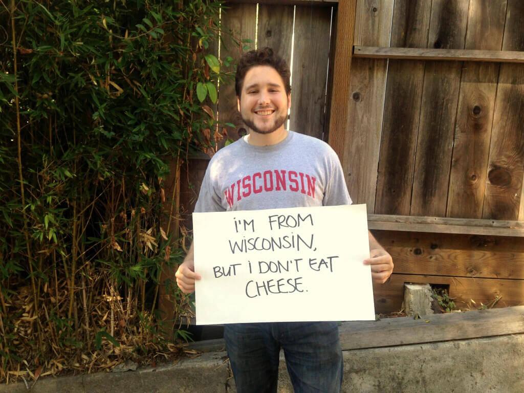 Wisconsin Cheese Vegan Animal Rights Myth