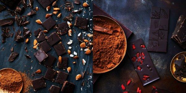 casse-cou vegan dark chocolate bars