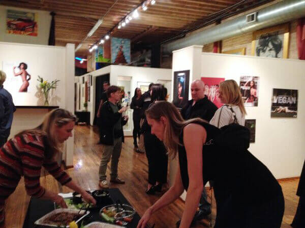 Opening Reception for Naked Ambition Exhibition in Chicago