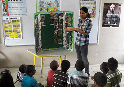 Teacher Adora Negron
