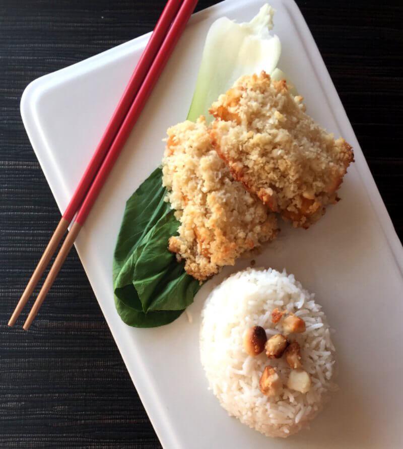 Macadamia Nut–Encrusted White 'Fish'