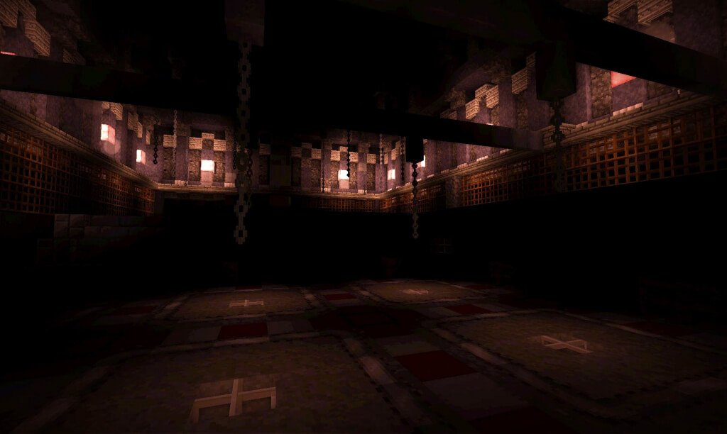 Inside the abandoned slaughterhouse