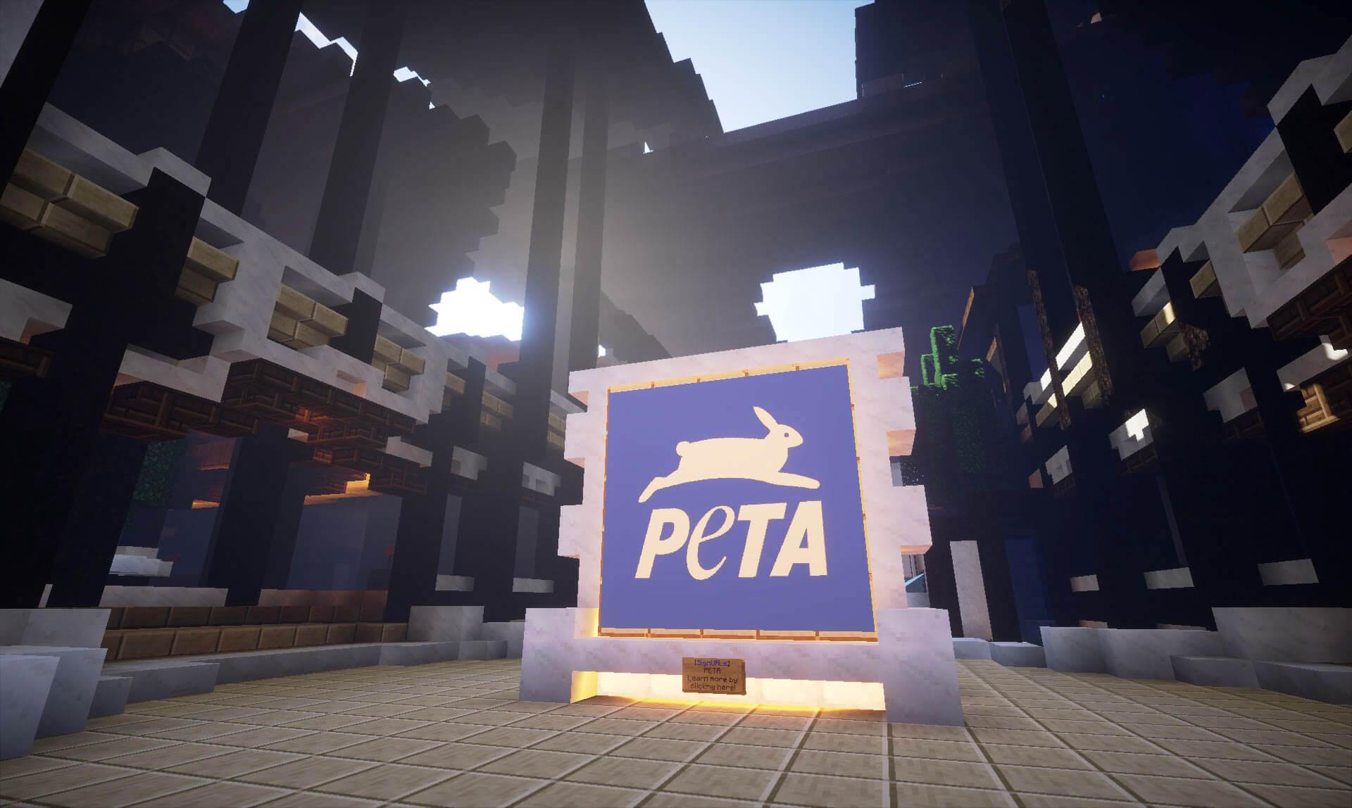 PETA Has Come to Minecraft! | PETA