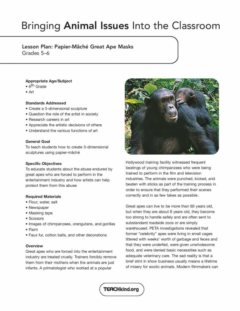 Create Your Own Animal Masks | PETA