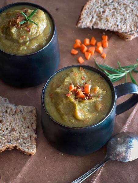 Parsnip Split Pea Soup